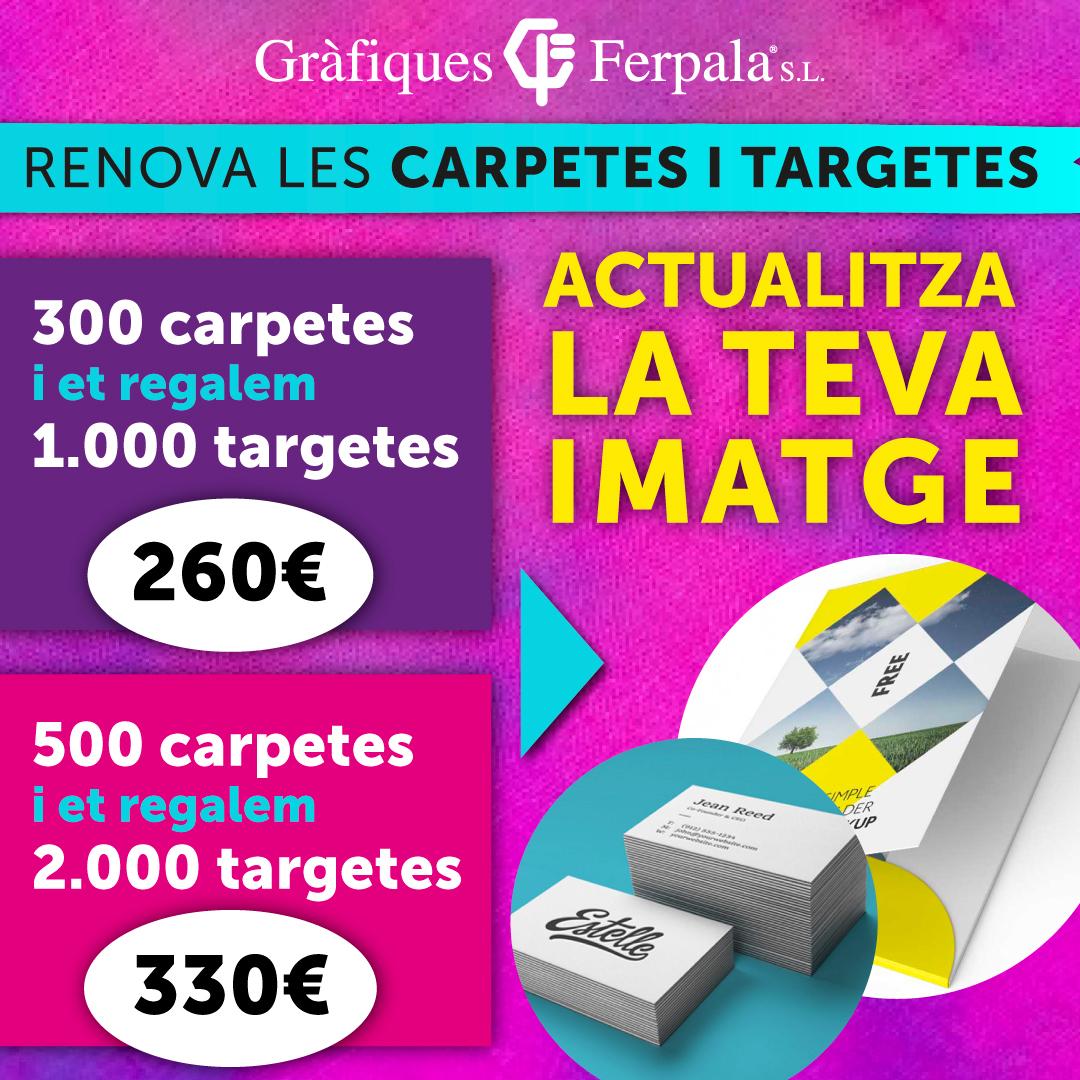 Promoció carpetes